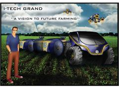 Design students present future tractor concept