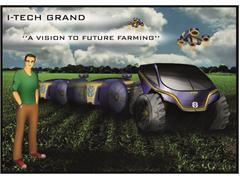At the New Holland Agriculture pavilion at Expo Milano 2015: 'The future of farming' as imagined by today's young design talents