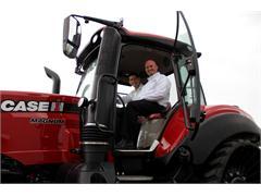 U.S. Rep. Paul Ryan Visits CNH Industrial's Agricultural Plant in Racine