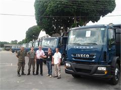 CNH Industrial brand supports Brazil's Air Force with vehicles for the Amazon Region