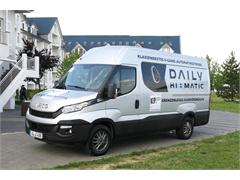 The Iveco Daily is named as Best Transporter for the delivery sector in Germany