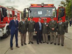 CNH Industrial  firefighting  brand Magirus delivers 40  vehicles to Chile
