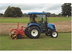 New Holland teams up with Campey Turf Care at BTME