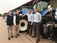 Top UK vegetable grower chooses fleet of 32 New Holland tractors