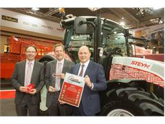 "Steyr ""Team Multi"" – a milestone at Agritechnica"