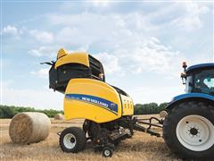New Holland Introduces New In-cab Adjustable Density and Variable Core Adjustment Feature On All Roll-Belt™ Balers