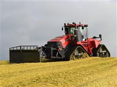 Case IH Quadtrac 620 also proves ideal for filling bunker silos