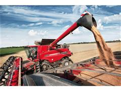 The next step forward – redesigned cab and new unloading technology on Case IH Axial-Flow® combines for 2013