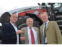 Silver Magnum auction raises £26,000 for The Prince's Countryside Fund at Cereals 2013