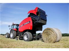 High-speed baling with the new generation of round balers from Case IH