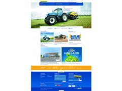 New Holland Launches New Website: Efficiency Becomes an Experience