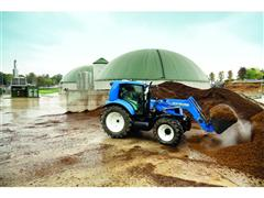 New Holland Explains Important Role of Biomethane in its Vision of a Sustainable Future for Agriculture
