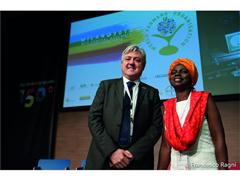 Brand President of New Holland Agriculture speaks at World Farmers Organisation at Expo Milano 2015