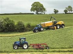 New Holland FR Forage Cruiser Delivers Leading Chopping Performance and Processing Efficiency