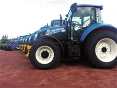 New Holland beats the clock to deliver council snow-clearing tractors