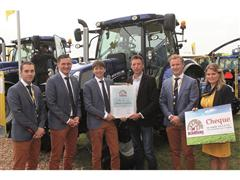 New Holland T6 AutoCommand™ named Best Farmer's Tractor 2014 at Agrotechniek, NL.