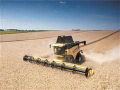 Cereals 2014 will debut new Varifeed™ 41-foot grain header  for New Holland CR combine harvester