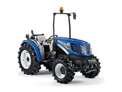 Warm welcome for New Holland T3.75F compact tractor at Fruit Focus