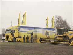 New Holland has organized a Demo Tour across Ukraine