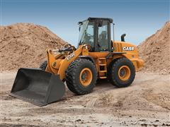 CASE Unveils the Tier 4 Final 521F Wheel Loader