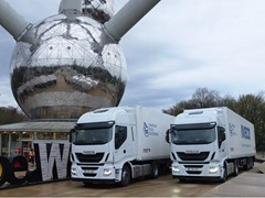 Iveco deploys semi-automated trucks for world's first ever Truck Platooning Challenge