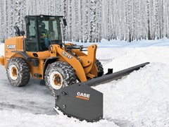 CASE Introduces New Sectional Snow Pushers for Wheel Loaders, Skid Steers, Compact Track Loaders and Backhoes