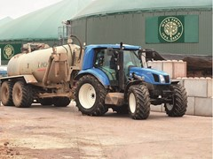 Prototype bio-methane powered tractor set to make energy-independent farming a reality for British farmers