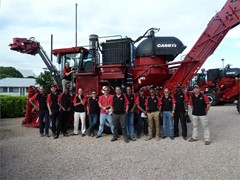 CASE IH holds training events for Middle Eastern salespeople and customers