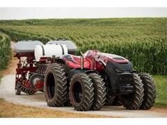 CNH Industrial представляет концепт автономного трактора, работающий без водителя и отличающийся высокой точностью и производительностью
