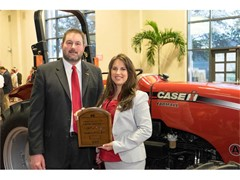 Maryland Farmer Wins a Case IH Farmall Tractor