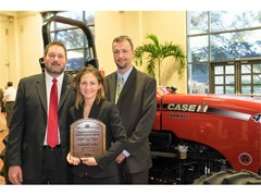 Kentucky Farmers Win Case IH Farmall Tractor