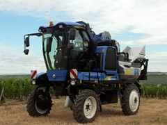 Behind the Wheel: How New Holland Agriculture helps make a great glass of wine