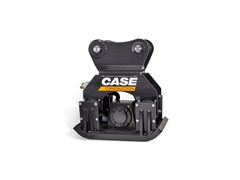 CASE Introduces Five New Excavator Plate Compactors