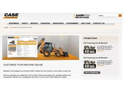 CASE Launches New Equipment Configurator at CaseCE.com
