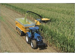 New Holland FR Forage Cruiser measures crop nutrients on the go with new NIR On BoardTM  sensor