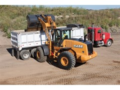 "Better Roads Magazine Names CASE 821F, 921F Tier 4 Final Wheel Loaders ""Top Rollouts"""