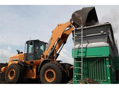 Wheel Loader Helps Contractor Achieve Sustainability