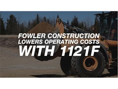 Head-to-Head Fuel Tests, Operator Feedback Lead Fowler to Add 1121F Wheel Loaders