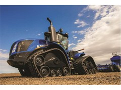 Tough New Holland SmartTrax™ II Tracks Optimized for Productivity