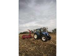 Dual Command™ Transmission Enhances Productivity of  New Holland T4 Series Utility Tractors