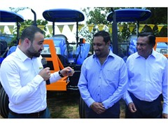 A fleet of 40 New Holland tractors to Butali Sugar Mills in Kenya
