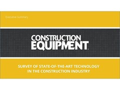 State-of-the-Art Technology in the Construction Industry: Survey Results Available Now