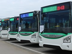 IVECO BUS supplies 210 buses to Expo 2017 host city Astana