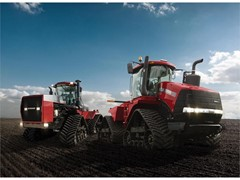 New Quadtrac CVX brings operational and efficiency benefits of continuously-variable transmission to articulated tracked tractor market