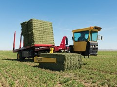 New Holland Agriculture Debuts Tier 4B Stackcruiser® Self-Propelled Bale Wagons