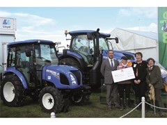 New Holland supports Addington Fund with Cumbrian barn conversion
