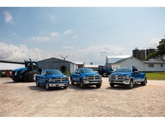 RAM HARVEST EDITION Trucks in New Holland Blue Available This Month