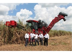 Case IH harvesters boost sugarcane production for Gunung Madu Plantation in Indonesia