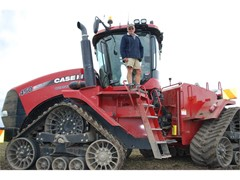 Case IH Gear Pivotal to Wheat World Record