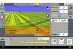 Case IH Nextswath - Perfect Turning by App